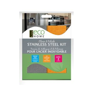 CLEAN & POLISH STAINLESS STEEL KIT (6)