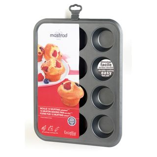 MASTRAD 12-MUFFIN BAKING PAN EXCELLIA