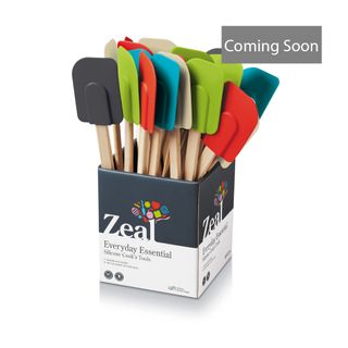 ZEAL LARGE SPATULA/WOODEN HANDLE (24)