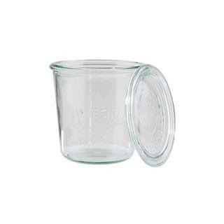 2PK WECK GLASS JAR 580ML