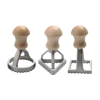 STAMPS THREE PIECE SET PASTA/BISCUIT
