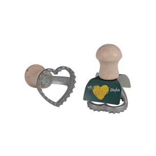 SMALL HEART-SHAPE RAVIOLI CUTTER 45X40MM