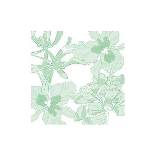 NAPKIN ETHEREAL FLOWER VERT (3)