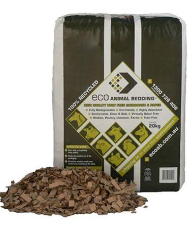 ECO Animal Bedding Bale 20kg Cardboard