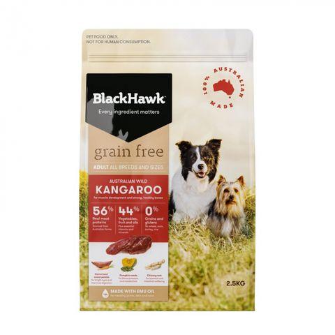 BLACKHAWK Grain Free Kangaroo 2.5kg