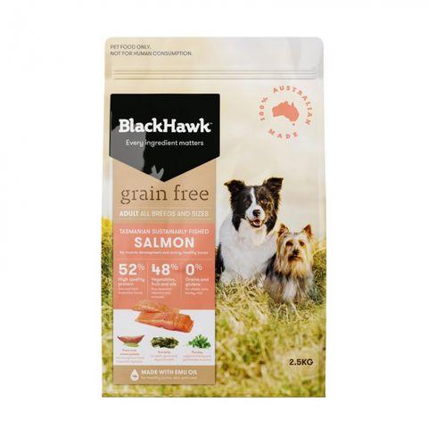 BLACKHAWK Grain Free Salmon 2.5kg