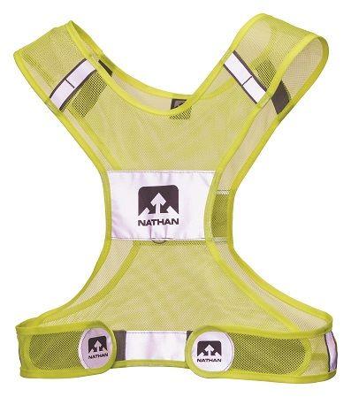 Nathan Streak Reflective Vest Neon Yellow L/XL