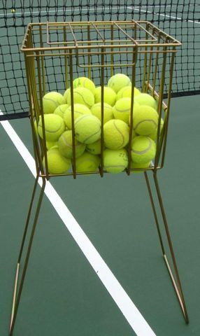 Mastercoach Zinc Plated 110 Ball Basket