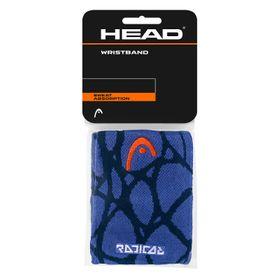 "18-HEAD Radical Wristband 5"" Navy/Blue***"