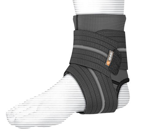 Shock Dr 845 Ankle Sleeve w/Compression Wrap