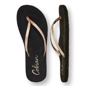 Cobian Sandal Shimmer - Rose Gold Womens US8