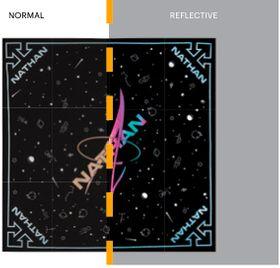 Nathan SS20 Hypernight Reflective Bandana Shadow/Yellow