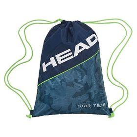 18-HEAD Tour Team Shoe Sack Navy/Green Bag