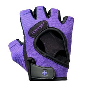 Harbinger Women's FlexFit Wash&Dry Gloves Blk/Prpl Large r
