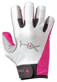 Harbinger Humanx X3 Womens Comp 3/4 Finger Gloves Small ***