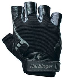 Harbinger Men's Pro Lifting Gloves Black Small r