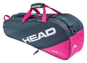 20-HEAD Elite 6R Combi Anthracite/Pink Bag