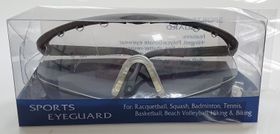 Sports Vented Eyeguard c/w Strap, Pouch & Anti Fog Adult