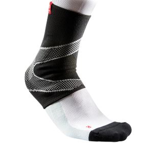McDavid Ankle Sleeve / 4 Way Elastic w/gel Butress Large r