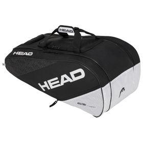 20-HEAD Elite 12R Monstercombi Black/White Bag r
