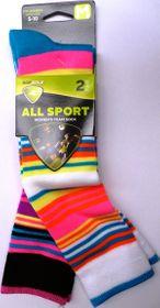 Sof Sole Printed Kneehigh Socks Multi Stripe***