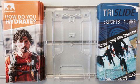 Trifold Brochure Holder DLE & Slatwall Clip