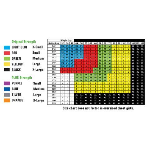 Posture Medic PLUS X/Large orange