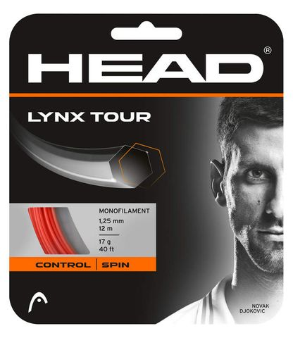 HEAD Lynx Tour 17g Tennis String 12m Set Orange