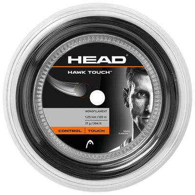 HEAD Hawk Touch 17g/1.25mm Tennis String 200m Reel Anth
