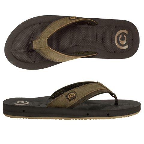 Cobian Sandal Draino - Chocolate Mens