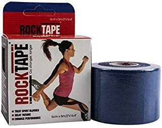 Rocktape Plain Navy 5cm x 5mtr Roll ct