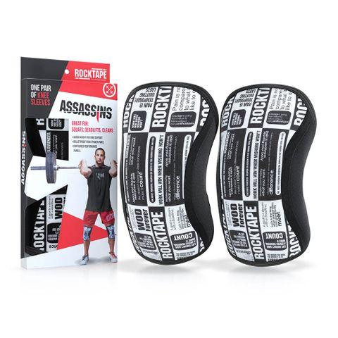 Rocktape Assassins Knee Sleeve Manifesto 5mm