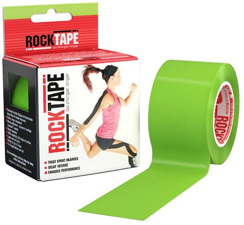 Rocktape Plain Lime 5cm x 5mtr Roll ***