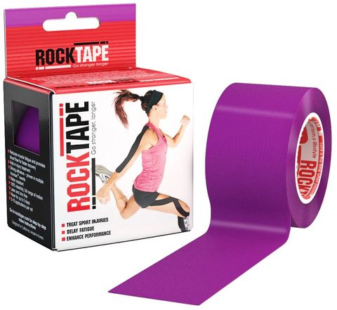 Rocktape Plain Purple 5cm x 5mtr Roll
