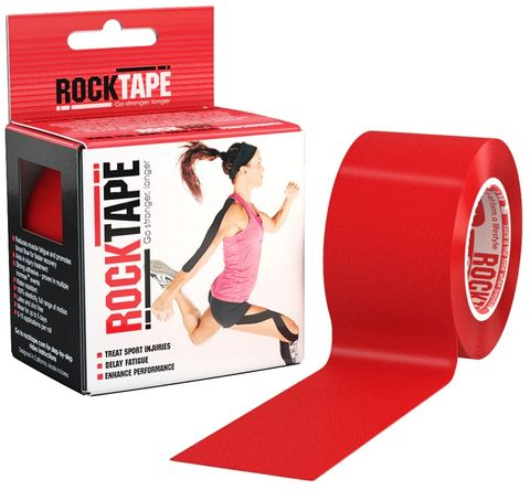 Rocktape Plain Red 5cm x 5mtr Roll***