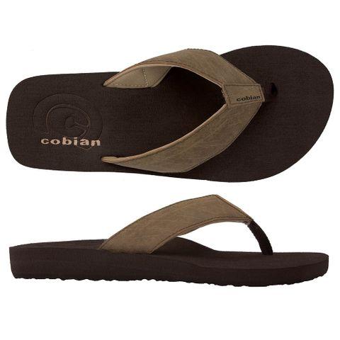 Cobian Sandal Floater - Mocha Mens