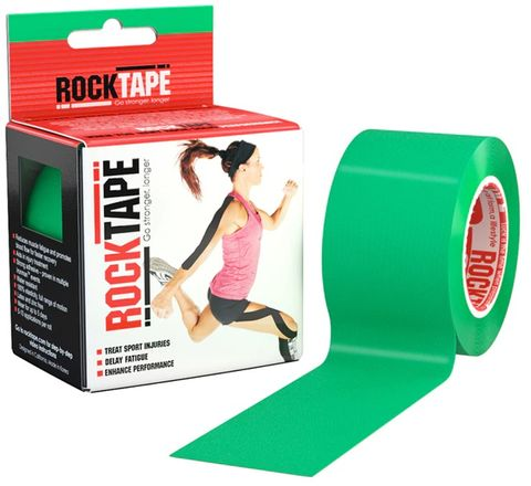 Rocktape Plain Green 5cm x 5mtr Roll***