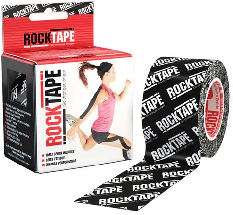 Rocktape Logo Black Pattern 5cm x 5mtr Roll t