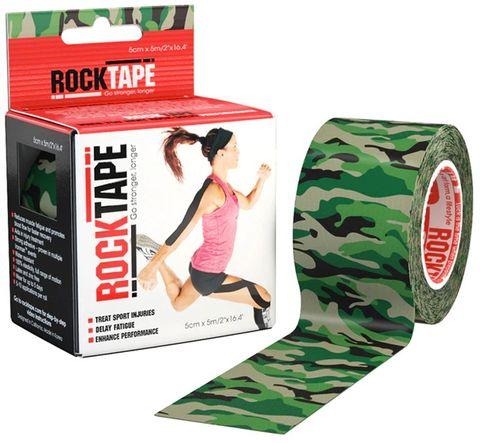 Rocktape Camo Green Pattern 5cm x 5mtr Roll c
