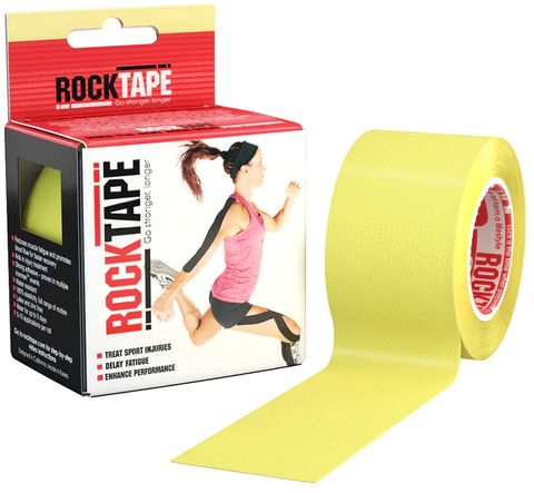 Rocktape Plain Yellow 5cm x 5mtr Roll***
