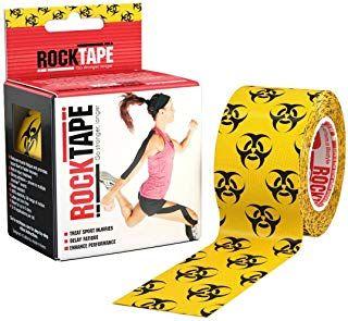 Rocktape Biohazard Pattern 5cm x 5mtr Roll ***