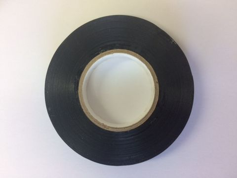 """Grip Finishing Tape Black 1/2"""" x 20 Metres"""
