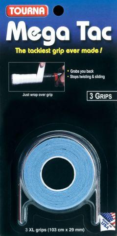 Tourna Grip Mega Tac Blue (3 GripBlisterPk)