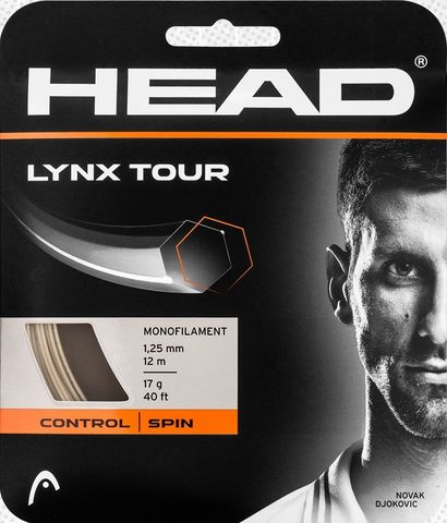 HEAD Lynx Tour 17g Tennis String 12m Set Champagne