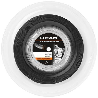 HEAD Synthetic Gut PPS 16g Tennis String 200m Reel Black