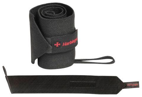 Harbinger Pro Thumbloop Wrist Wraps Black Uni Size