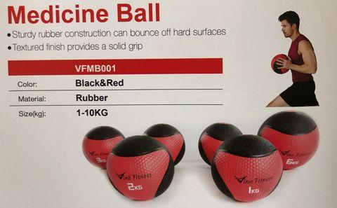 Vine 3kg Medicine Ball (No Packaging)***