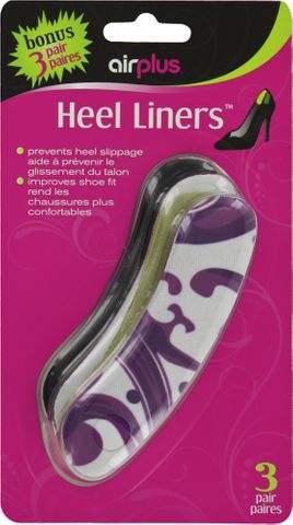 Airplus Fashion Print Heel Liner***