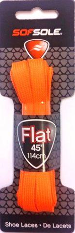 Sof Sole Flat Laces 45 Neon Orange***