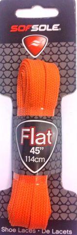 Sof Sole Flat Laces 45 Orange***